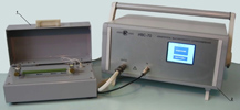 Instrument for high-ohmic resistance measurement ИВС-70