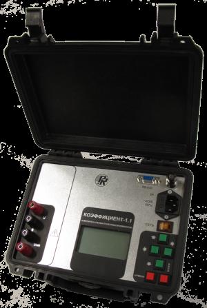 Transformer parameters meter «Коэффициент-1.1»